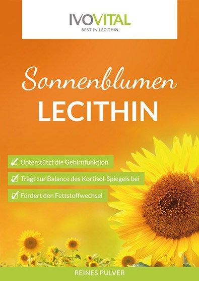 Sonnenblumenlecithin – unseren Klassiker gibt es auch als BIO Produkt