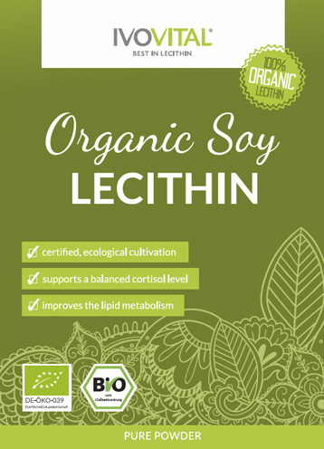 Organic Soy Lecithin is the purest form of soylecithin and helps you to stay healthy