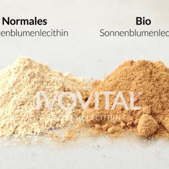 farb-unterschied-sonnenblumenlecithin-ivovital
