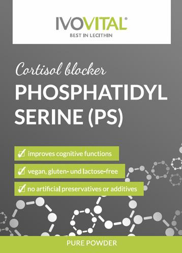 Phosphatidylserine is a natural cortisol blocker